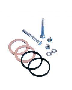 "9912456, Install Kit, 6.00"" (DN100CF 152.4mm) Del-Seal CF ConFlat Flange"