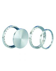 """100055, Flange, 10"""" x 8"""" (254mm x 203.2mm), DN200CF, Rotatable, Clearance, 304ss"""