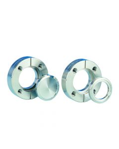 """Flange, 2.125"""" x 0.75"""" (53.975mm x 19.05mm), Rotatable, Tapped, 304ss"""