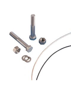 """190020, Hex, Head Bolt, 3.5"""" (89mm), Wire Seal Flange (36 Per Pack)"""