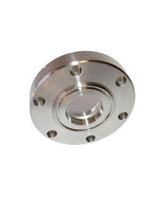 9792094, Extended Range Viewport (ERV), Calcium Fluoride (CaF2) 1.00inch (25.4mm) Lens, 2.75 CF (DN40 CF) Conflat Flange