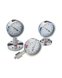 """Vacuum Gauge, w/.25"""" FPTx.125"""" MPT"""