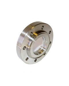 9792096, Extended Range Viewport (ERV), Calcium Fluoride (CaF2) 2 inch (50.8mm) Lens, 4.5 inch CF (DN63 CF) Conflat Flange