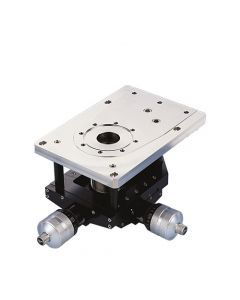 "Dual Axis XY, 4.5""x2.75"" Flange, 0.50Travel"