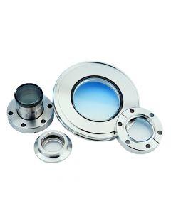 450009, Zero Profile Viewport, 7056 Glass, 10.00CF (DN200CF) Conflat Flange