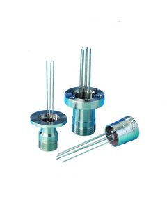 "Multipin Feedthrough, 7 Pins, 0.032"" Diameter Conductors, Weldable"