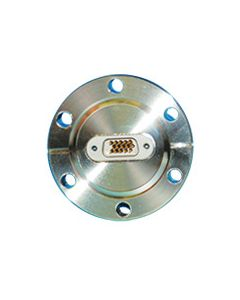 """Multipin Feedthrough, 15PIN Double Densite TYPE-D, 2.75"""" Conflat Flange"""