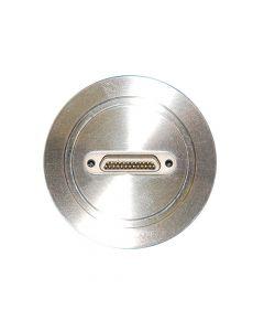 Multipin Feedthrough, 25PIN Micro Type-D, K200, NW50, Kwik-Flange ISO KF, Quick Flange