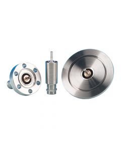 "9222003, MHV Coaxial Feedthrough, 3 Pins, Grounded Shield, 2.75"" CF (DN40 CF) Conflat Flange"