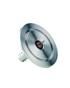 9223000, MHV Coaxial Feedthrough, 1 Pin, Grounded Shield, K075 (NW16) Kwik-Flange
