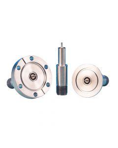 9263002, SHV-B (Bakeable) Coaxial Feedthrough, 2-Pin, Grounded Shield, K200 (NW50) Kwik-Flange