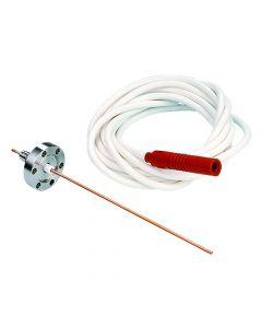 Power Feedthrough, 5KV 25 Amps, 4PIN WC, K150, NW40, Kwik-Flange ISO KF, Quick Flange