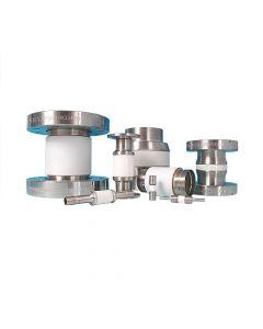 "9632006, Ceramic Vacuum Break, 15kV, 8.00"" (203.2mm) ID, 10.00"" (DN200CF 254mm) Del-Seal CF ConFlat Flange"