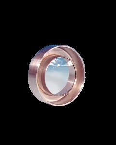 "9711007, UV Grade Sapphire viewport, 0.75"" Lens, 304-Weldable"