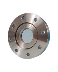 "9712001, UV Grade Sapphire Viewport, 0.75"" Lens, 2.75"" Conflat Flange (19mm Lens, DN40 CF)"