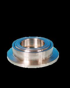 """UV Grade Sapphire viewport, 0.625"""" Lens, K075, NW16, Kwik-Flange ISO KF, Quick Flange"""
