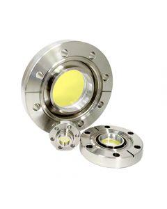 9792887, Extended Range Viewport (ERV), Zinc Selenide (ZnSe) 3.00inch (76.2 mm) Lens, 6.00 CF (DN100 CF) Conflat Flange