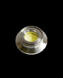 9793883, Extended Range Viewport (ERV), Zinc Selenide (ZnSe), 0.50nch (12.7mm) Lens, K100 KF (DN25 KF) Kwik Flange