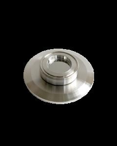 9793094, Extended Range Viewport (ERV), Calcium Fluoride (CaF2) 1.0inch (25.4mm) Lens, K150 KF (DN40 KF) Kwik Flange