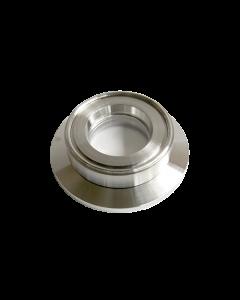 9793134, Extended Range Viewport (ERV), Crystal Quartz (SiO2), 1.0inch (25.4mm) Lens, K150 KF (DN40 KF) Kwik Flange