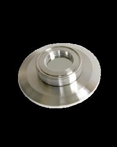 9793095, Extended Range Viewport (ERV), Calcium Fluoride (CaF2) 1.0inch (25.4mm) Lens, K200 KF (DN50 KF) Kwik Flange