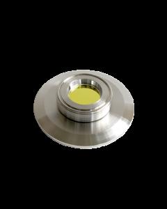 9793885, Extended Range Viewport (ERV), Zinc Selenide (ZnSe), 1.0inch (25.4mm) Lens, K200 KF (DN50 KF) Kwik Flange