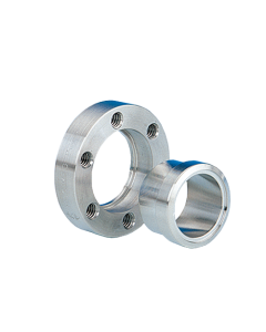 """120003, 1.33"""" x 0.5"""" (DN16CF 34mm x 12.7mm) Mini ConFlat Flange, Rotatable, Tapped, 304ss"""